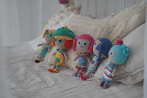 Эксклюзивные куклы Бумвяжики, изготовленные вручную
