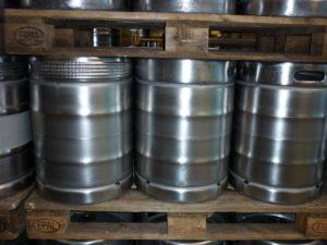 пива в кегах зберігання