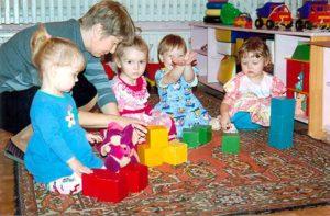 персонал детского сада