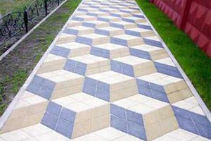 Бизнес-план производства тротуарной плитки: технология, оборудование, подсчеты