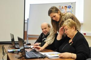 Компьютерные уроки для пожилых людей