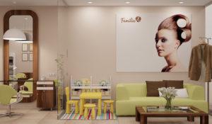 Открытие салона красоты Familia по франшизе