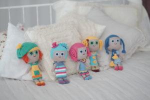 Куклы Бумвяжики из гипоаллергенных материалов